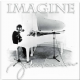 John Lennon Imagine steel fridge magnet